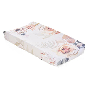 Oilo Vintage Bloom Jersey Changing Pad Cover