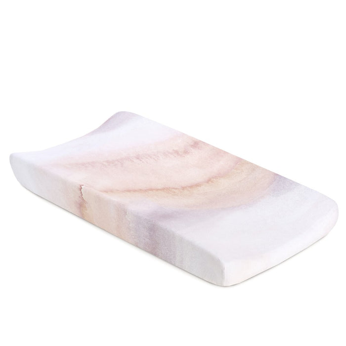 Oilo Sandstone Jersey Changing Pad Cover
