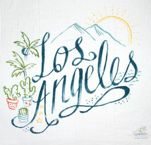 Coveted Things Organic Swaddle Scarf-Los Angeles