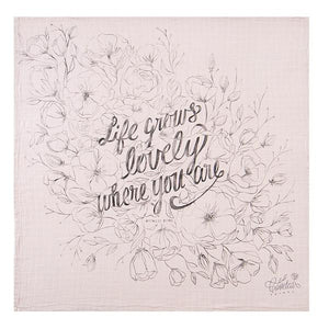 Coveted Things Organic Swaddle Scarf-Life Grows Lovely