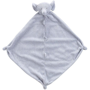 Angel Dear Lovie Blankie Grey Elephant