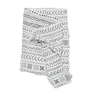 Loulou Lollipop Mudcloth Muslin Swaddle Blanket