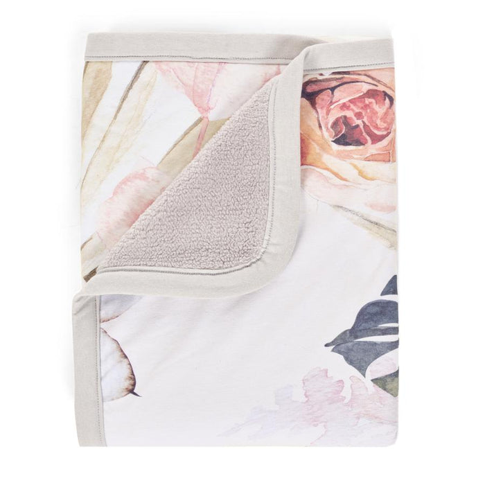 Oilo Vintage Bloom Cuddle Blanket