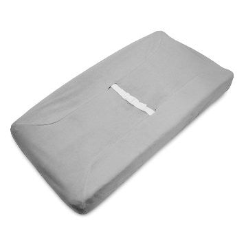 ABC Changing Pad Cover-Grey