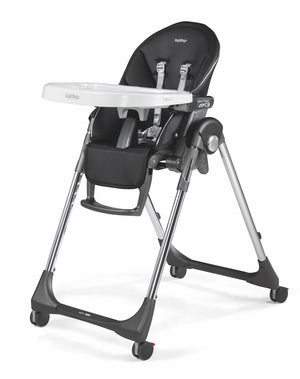 Agio Peg Perego High Chair-Licorice