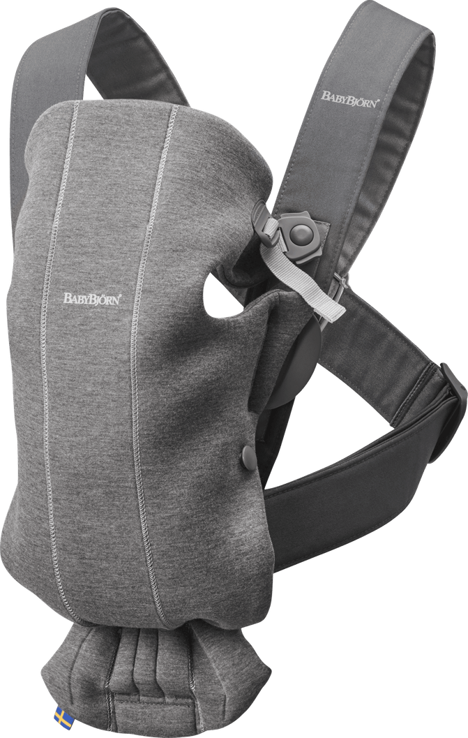 Baby Bjorn Baby Carrier Mini Jersey-Dark Grey
