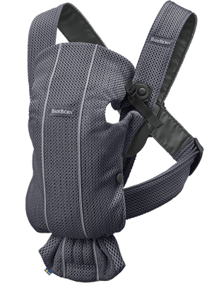 Baby Bjorn Baby Carrier Mini-Antracite Mesh