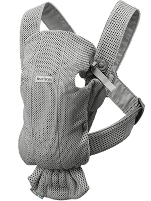 Baby Bjorn Baby Carrier Mini-Grey Mesh