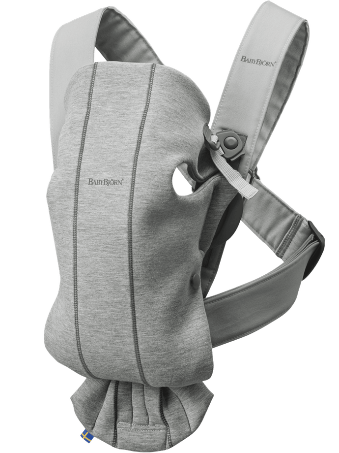 Baby Bjorn Baby Carrier Mini Jersey-Light Grey