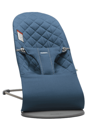 Baby Bjorn Bouncer Bliss-Midnight Blue Cotton