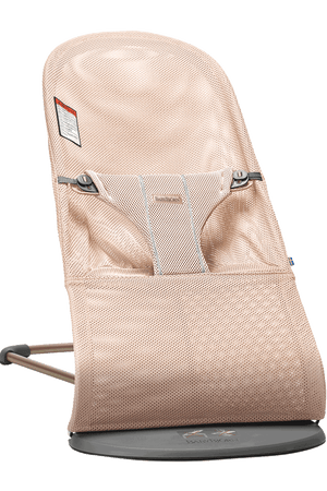 Baby Bjorn Bouncer Bliss-Pink Mesh