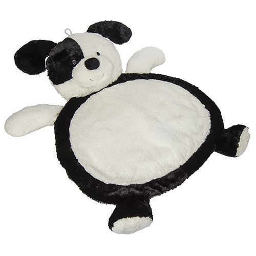 Bestever Baby Mat-Black/White Puppy