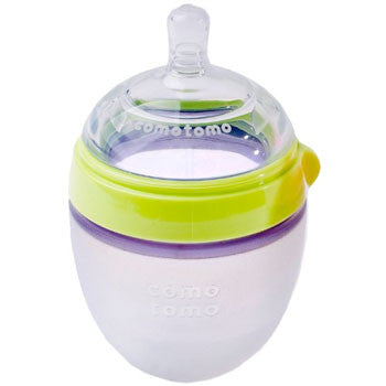 Comotomo Baby Bottle-5oz-Green