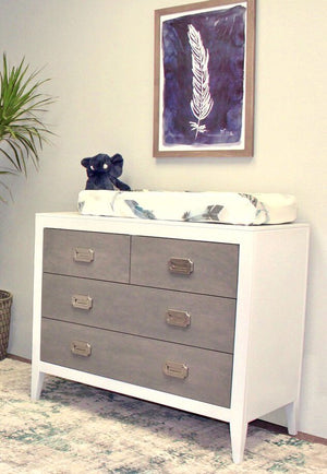 Newport Cottages Devon 4-drawer Dresser-Exclusive