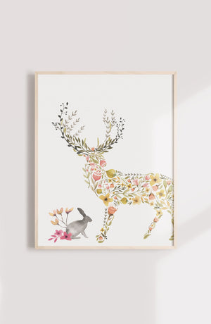 Oilo Fawn Wall Art