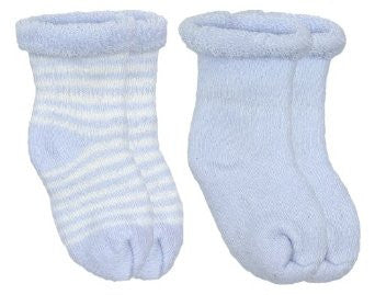 Kushies Booties 2pk-Blue