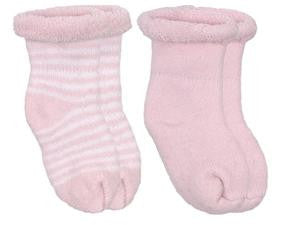 Kushies Booties 2pk-Pink