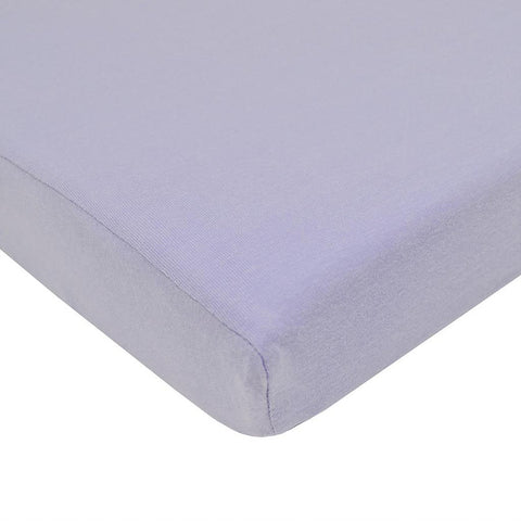 ABC Crib Sheet-Lavender