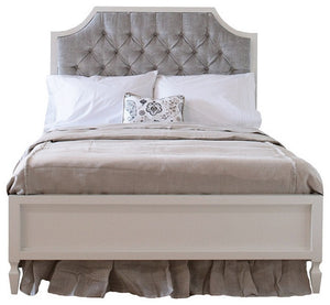 Beverly Bed with Tufted Panel