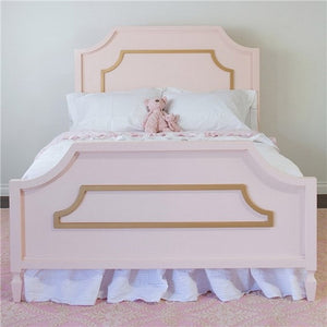 Newport Cottages Beverly Bed with Molding-Queen