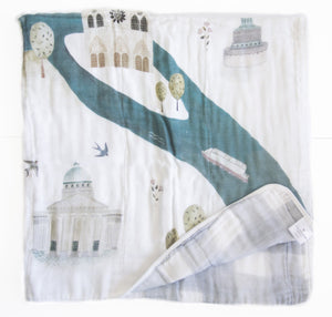 Loulou Lollipop City 4-layer Muslin Quilt