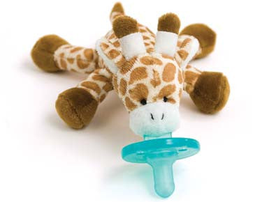 WubbaNub Infant Pacifier-Giraffe