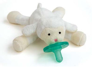 WubbaNub Infant Pacifier-Lamb