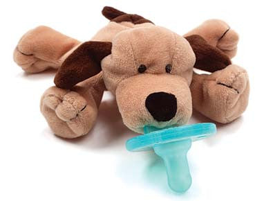 WubbaNub Infant Pacifier-Puppy