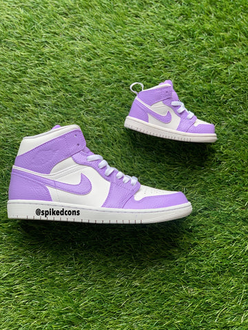 Custom Lavender Jordan 1-Toddler