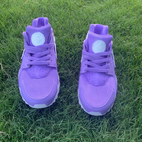 Custom Lavender  Nike Air Huaraches