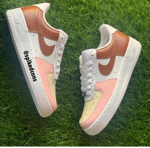 Neopolitan Ice Cream—Air Force 1 women 7 READY TO SHIP!!!
