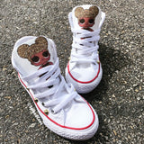 LOL Custom Converse with studs **Send note of which LOL Doll desired**