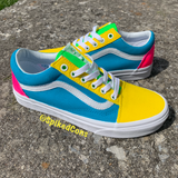 "Custom ""Spring Time"" Vans -Old Skool"