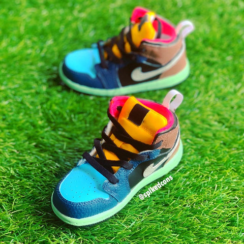 Custom Jordan 1- Kids/Toddler Bio Pack Inspired