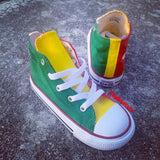 Rasta Converse (Red Yellow Green) (African Pride) -Toddler
