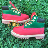 Green/Red Custom Timberlands (Gucci Colors Inspired) **ADD EXACT IN NOTES**