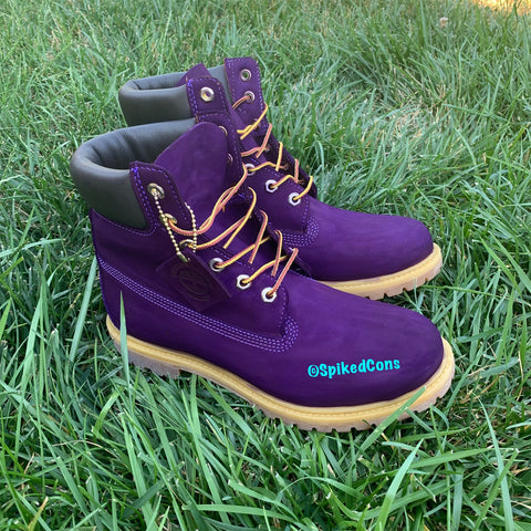 Custom Purple Timberlands