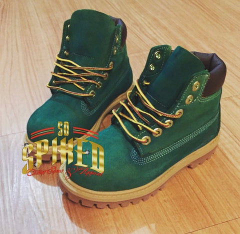 Custom Green Timberlands