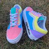 "Custom ""Unicorn"" Vans -Old Skool"