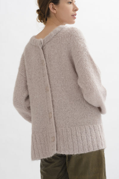 Anita Button Back Sweater