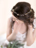 Hair Wreath | FLOWER BUDS & CRYSTAL