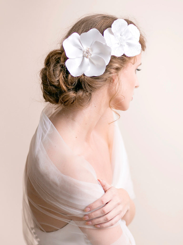 Bridal Hair Accessory - Flowers