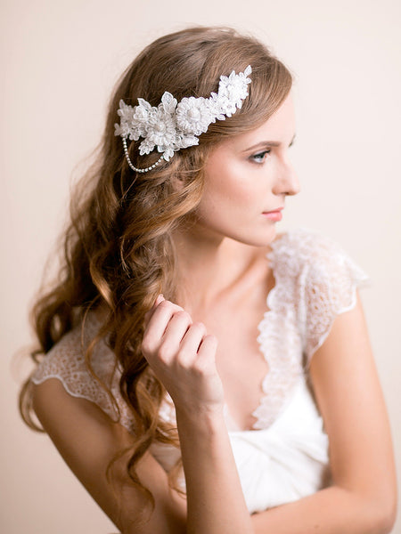 Bridal Lace Headpiece