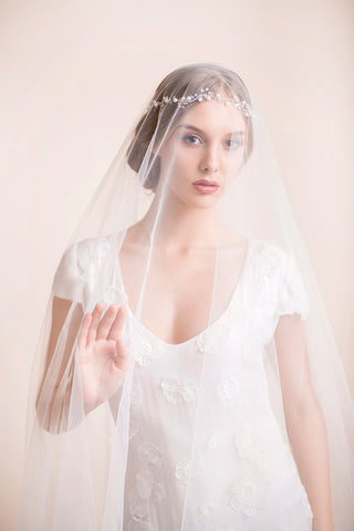 Custom Made Bridal Veil