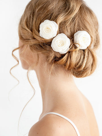 Bridal Hair Pins Roses