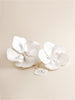 Bridal Hair Accessory - Flowers Full View