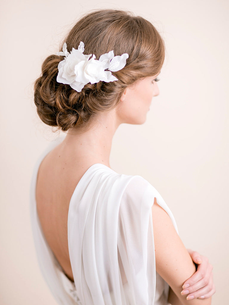 Lily Magnolia Hair Piece