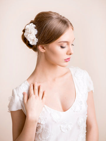 Wedding Flower Hair Piece
