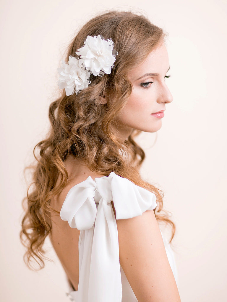 Wedding Hair Piece in Vintage Style