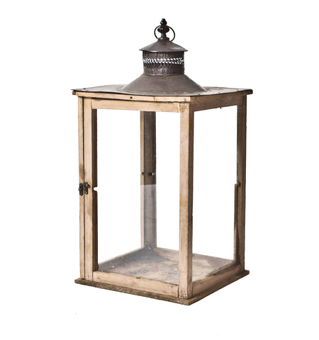 Wooden Carriage Lantern